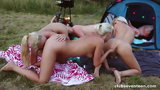 Horny holiday in Holland