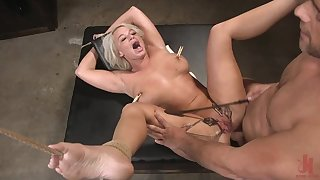 The Dinner Party: Cheating Fit together London River Gets Anally Creampied