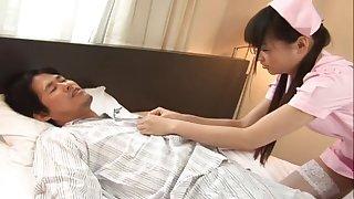 Japanese nurse Riku Shiina enjoys riding her unintended patient