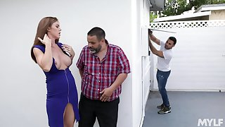 Ivy Secret likes to fuck in all possible poses with her boyfriend
