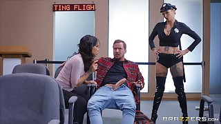 role play with Anna Bell Peaks is something that her friends can't forget