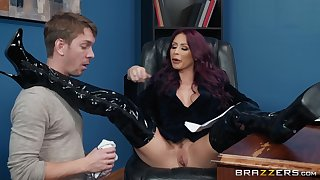 doggy style on the table is something that Monique Alexander can't forget