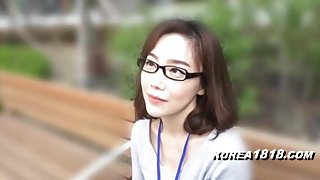 KOREA1818.COM - korean Cutie regarding glasses