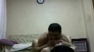 Pakistani amateur big boobs son fuck at home