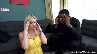 Black guy gets his way with alluring follower groupie Kenzie Taylor