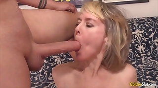 Golden Slut - Grannies Obtaining a Proper Chew Compilation
