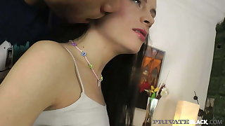 PrivateBlack - Young Beauty Polly Sunshine Gets Dicked!