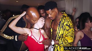 BLACKEDRAW My gf got gang-fucked handy the after soiree